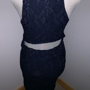 Abercrombie & Fitch Dresses - Blue Lacey Abercrombie Dress